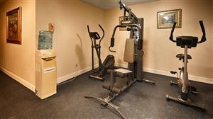 Fitness/ Exercise Room - Best Western Gardendale Inn