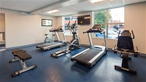 Fitness/ Exercise Room - Best Western Plus Franklin Square Inn Troy