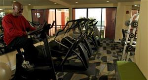 Fitness/ Exercise Room - Patricia Grand Resort Hotel Myrtle Beach